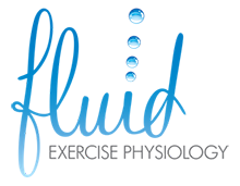 Bridging the Gap Between Treatment and Life – Fluid Exercise Physiology Logo