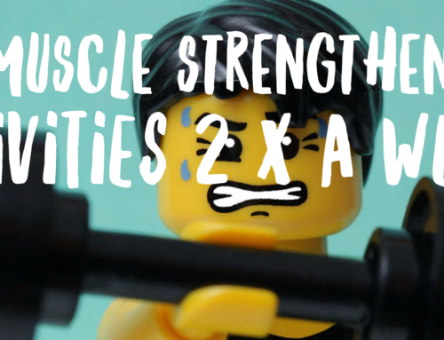 Do at least 2 strength exercise sessions per week.
